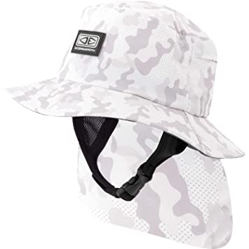 d4325c57fb6 Image Unavailable. Image not available for. Color  Ocean Earth Mens Indo  Stiff Peak Camo Bucket Surf Hat ...