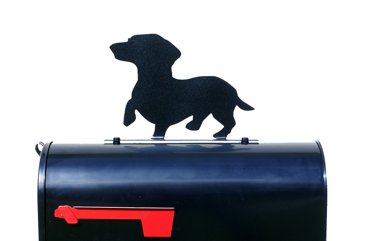 Dachshund Dog MailBox Topper / Sign / Plaque
