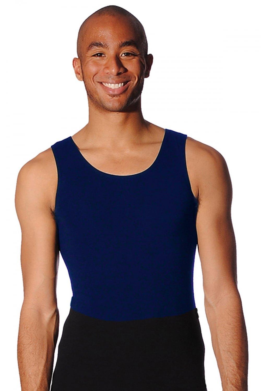 Justaucorps pour garçons Ballet Sans manchesCoton/LycraNoir, Blanc ou bleu marine
