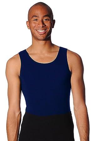ab95781df560 BOYS Ballet Leotard - Sleeveless Cotton Lycra - Black