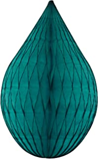 product image for 6-Pack 5 Inch Mini Rain Drop Honeycomb Ornament Decoration (Teal Green)