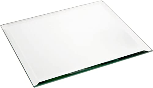 Plymor Square 5mm Beveled Glass Mirror, 8 inch x 8 inch Pack of 12