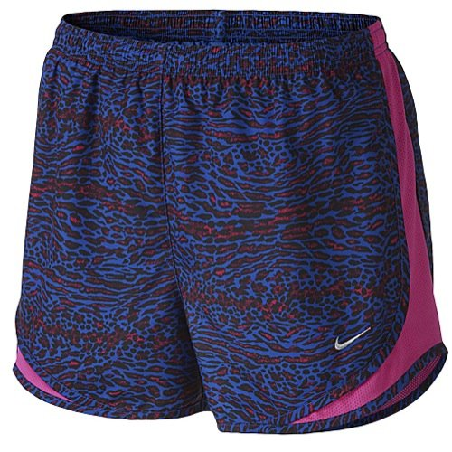 Nike Women's Venom Tempo Running Shorts,Game Royal/Vivid Pink/Matte Silver,Large