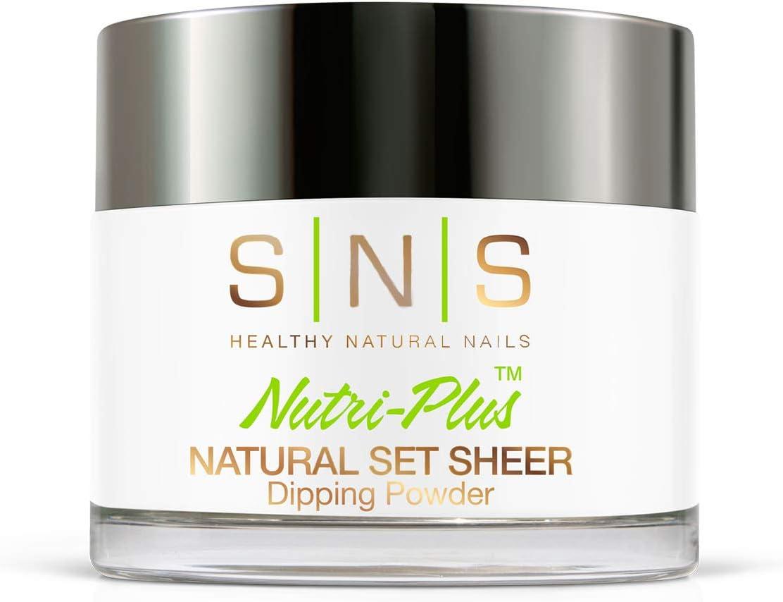 SNS Healthy Natural Nails - Natural Set Sheer - 2 oz