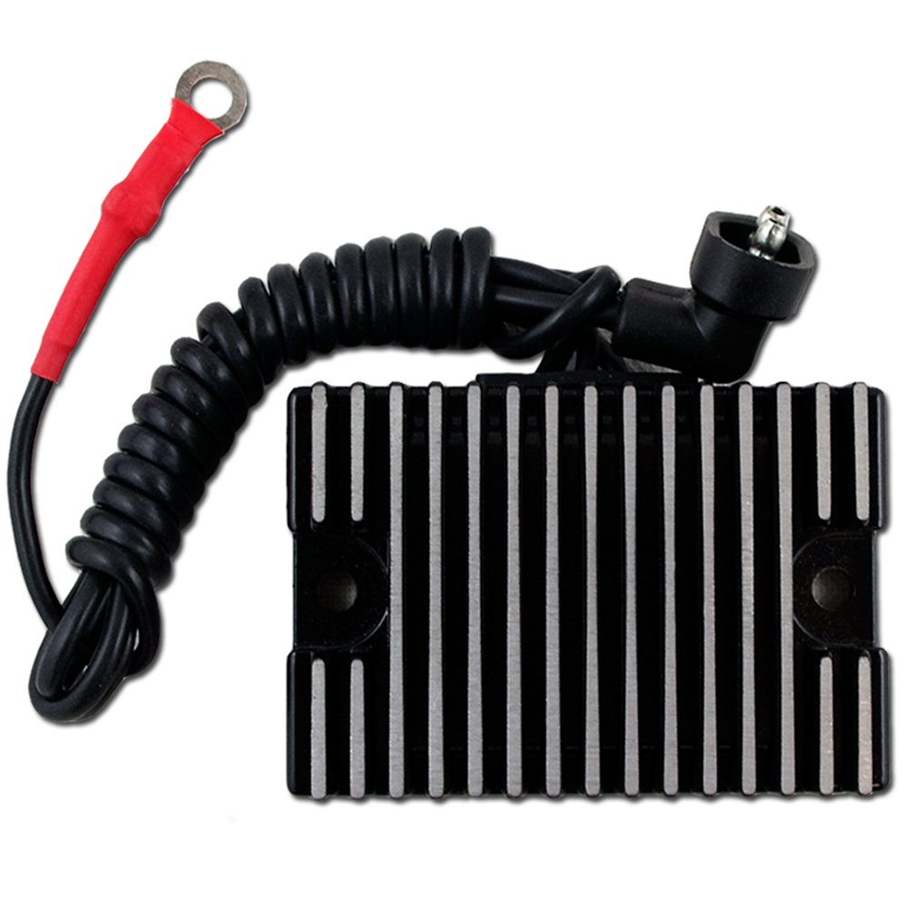 CBK New Voltage Regulator Rectifier For Harley Davidson Replaces 74519-88 Black