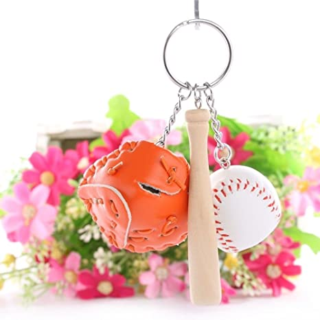 Llavero Béisbol llavero porta llaves llave Guante pelota ...