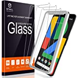 MP-MALL [3-Pack] Screen Protector For Google Pixel 4, Tempered Glass [Alignment Frame Easy Installation] [Scratch…