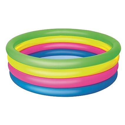 Amazon.com: h2ogo. Rainbow inflable piscina hinchable: Toys ...