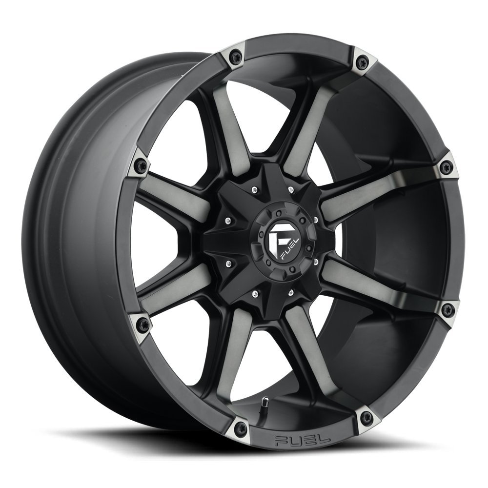 AUTHORIZED DEALER 20x9 Fuel Offroad Wheels Coupler D556 8x170 20 Offset 125.1 Centerbore P# D55620901757 Black//Machine NEW WHEELS ONLY