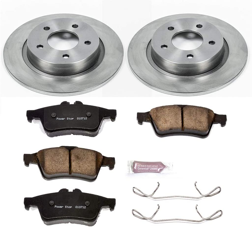 Autospecialty KOE129 1-Click OE Replacement Brake Kit Power Stop