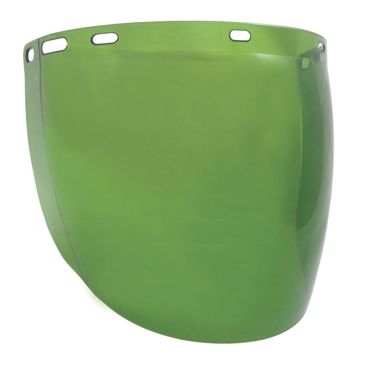 SAS Safety 5157 Replacement Faceshield for 5147, Dark Green