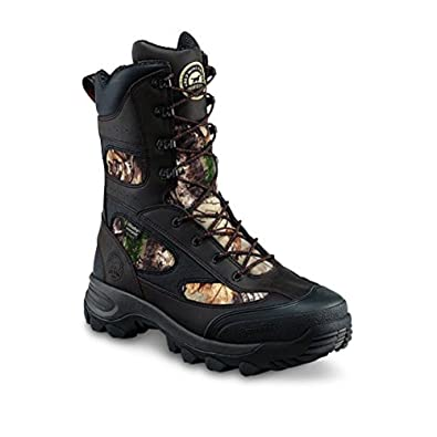 """Irish Setter Men's Ridge Topper 9"""" Insulated Waterproof Hunting Boots 800 Gram Brown/Realtree Xtra (Wide Sizes)"""