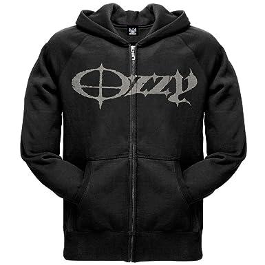 7acad82508b19 Amazon.com  Old Glory Ozzy Osbourne - Mens God Sake Zip Hoodie  Clothing
