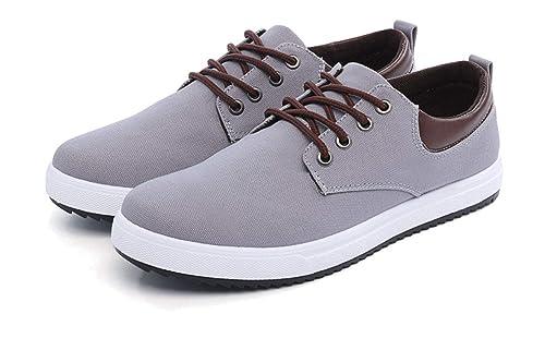 Topcloud Moda Hombre Oxfords Zapatos Zapatillas Moda Zapatillas con Cordones Zapatos Barco Zapatillas Low Sneaker: Amazon.es: Zapatos y complementos
