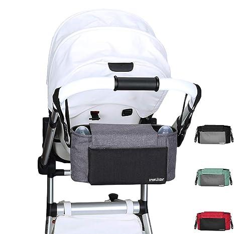 y-step bebé bolsa de pañales para pañales organizador bolsa cochecito de bebé cochecito Organizador