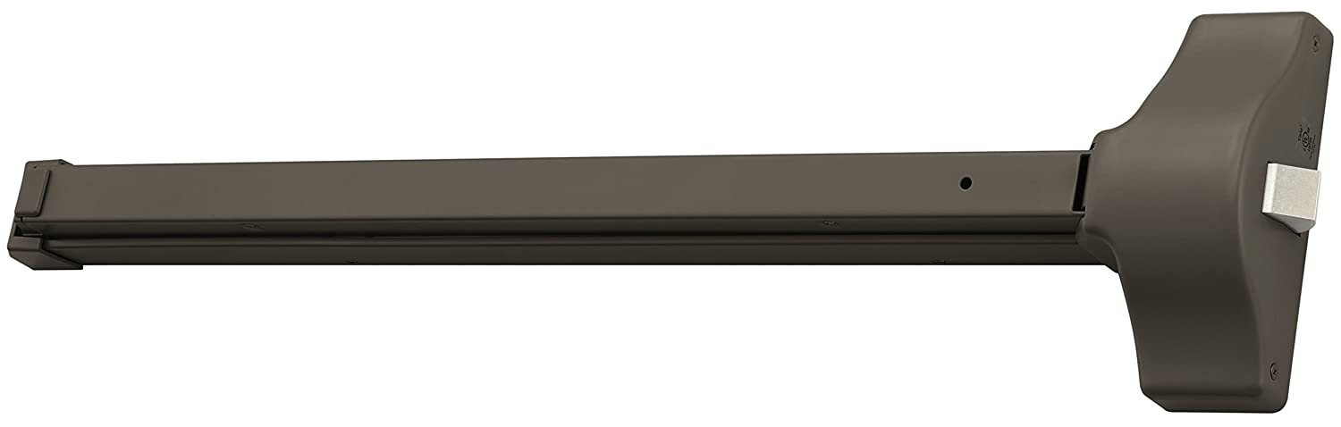 Yale 1800-36 x 695 1800 Rim Exit Device for 36 Wide Doors 695 Satin Bronze Painted
