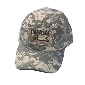 9b43ad7c7c4ae Pavementof Militar Táctico De Caza Cap la Bandera Americana Mil-Tec - Gorra  de béisbol Gorro con Camuflaje táctico Patch