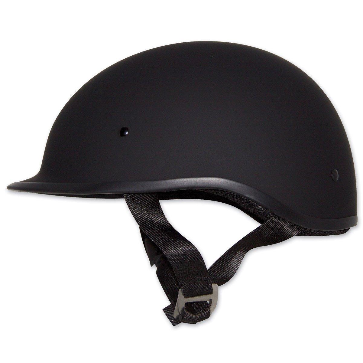 Zox Polo Sport Matte Black Half Helmet, M
