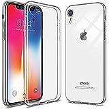 [WOEXET] iPhone XR ケース iPhone新型 2018 6.1インチ 高品質TPUカバー 極薄軽量 透明 滑り防止 アイフォン XR カバー ソフト クリア スリム シンプル