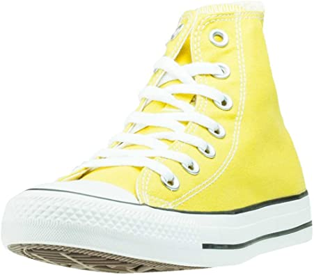 converse montantes femme jaune