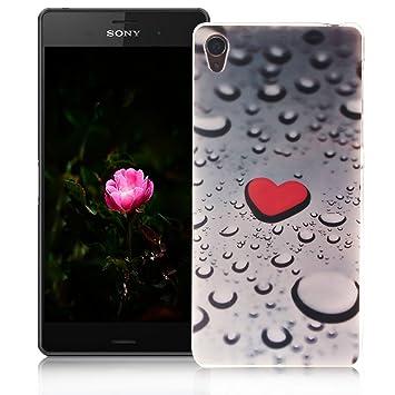 XiaoXiMi Funda Sony Xperia Z3 Carcasa de Silicona Caucho Gel para Sony Xperia Z3 Soft TPU Silicone Case Cover Funda Protectora Carcasa Blanda Caso ...
