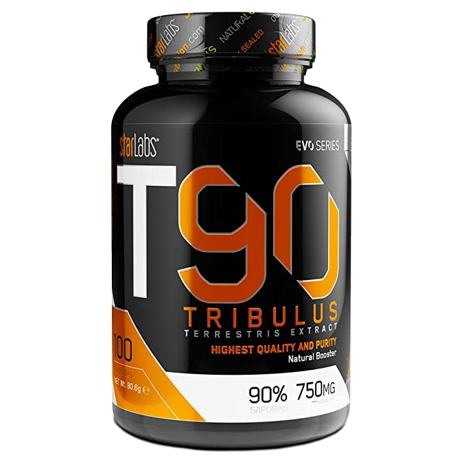 Starlabs nutrition t90, 100 caps. tribulus terestris 90% saponinas