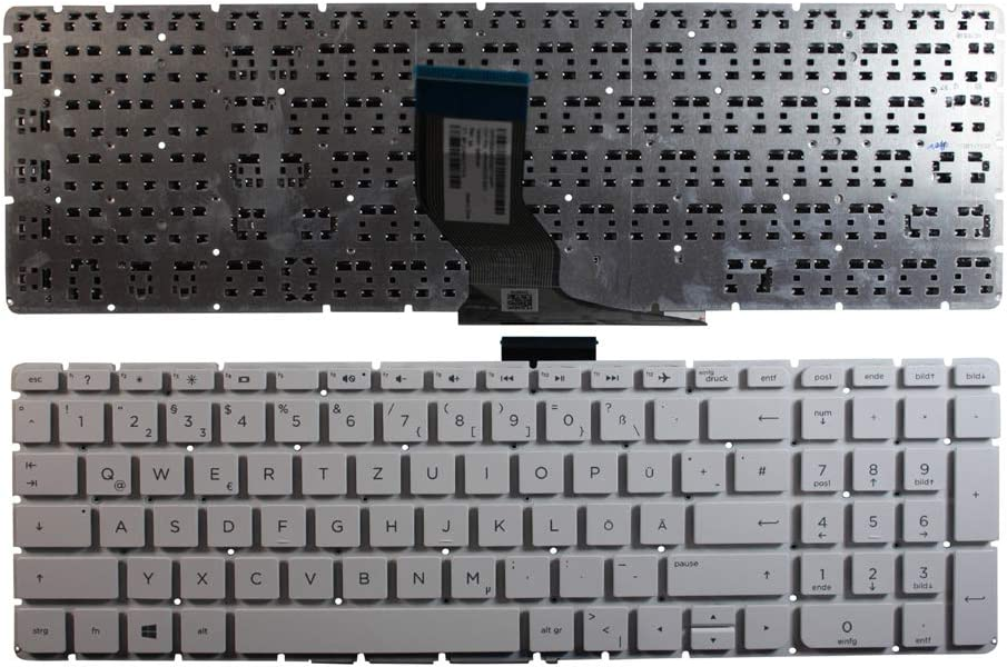 HP Pavilion 15-ab278nw HP Pavilion 15-ab280nd Keyboards4Laptops German Layout White Windows 8 Laptop Keyboard Compatible with HP Pavilion 15-ab278nf HP Pavilion 15-ab279TX HP Pavilion 15-ab278TX