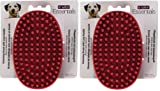 Le Salon Essentials 2 Pack of Rubber Grooming