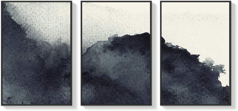 NWT Framed Canvas Wall Art for Living Room, Bedroom Abstract Zen Canvas Prints for Home Decoration Ready to Hanging - 16