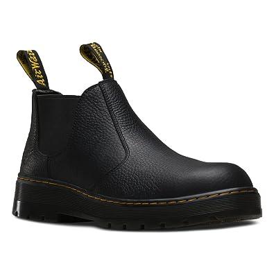 Amazon.com   Dr. Martens Men\'s Rivet Steel Toe Chelsea Boot   Boots