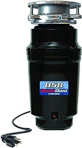 Waste Maid 10-US-WM-058-3B Garbage Disposal, 1/2 HP Economy, Black