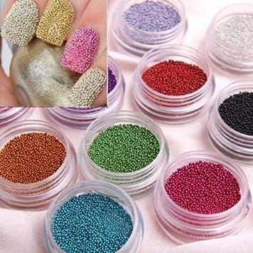 Amazon By Champper Fashion Caviar Nails Art New 12 Colors