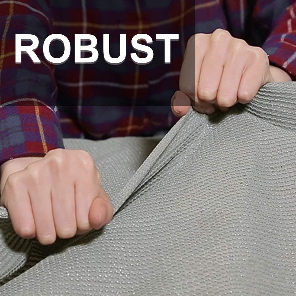 90x600cm gris UISEBRT Brise-vue en poly/éthyl/ène haute densit/é /À tendre sur balcon Instructions de montage fran/çais non garanti