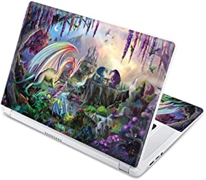 "MightySkins Skin Compatible With Acer Chromebook 15 15.6"" (2017) - Dragon Paradise 