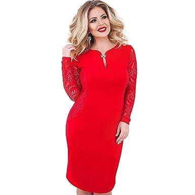 65765bbfc2 6XL Sexy Blue Lace Dress Women Plus Size Dresses Large Size Party ...