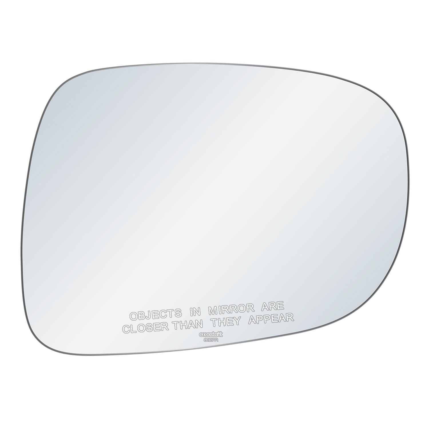 Rugged TUFF exactafit 8127R Replacement Passenger Right Side Mirror Glass Convex Lens fits Lexus ES350 IS250 IS350