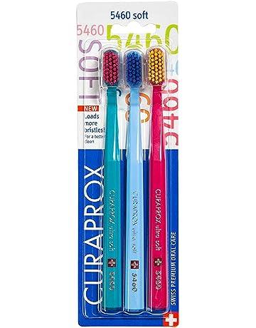 Curaprox CS5460PACK - Ultra suave Cepillo de dientes, 3 unidades, colores aleatorios