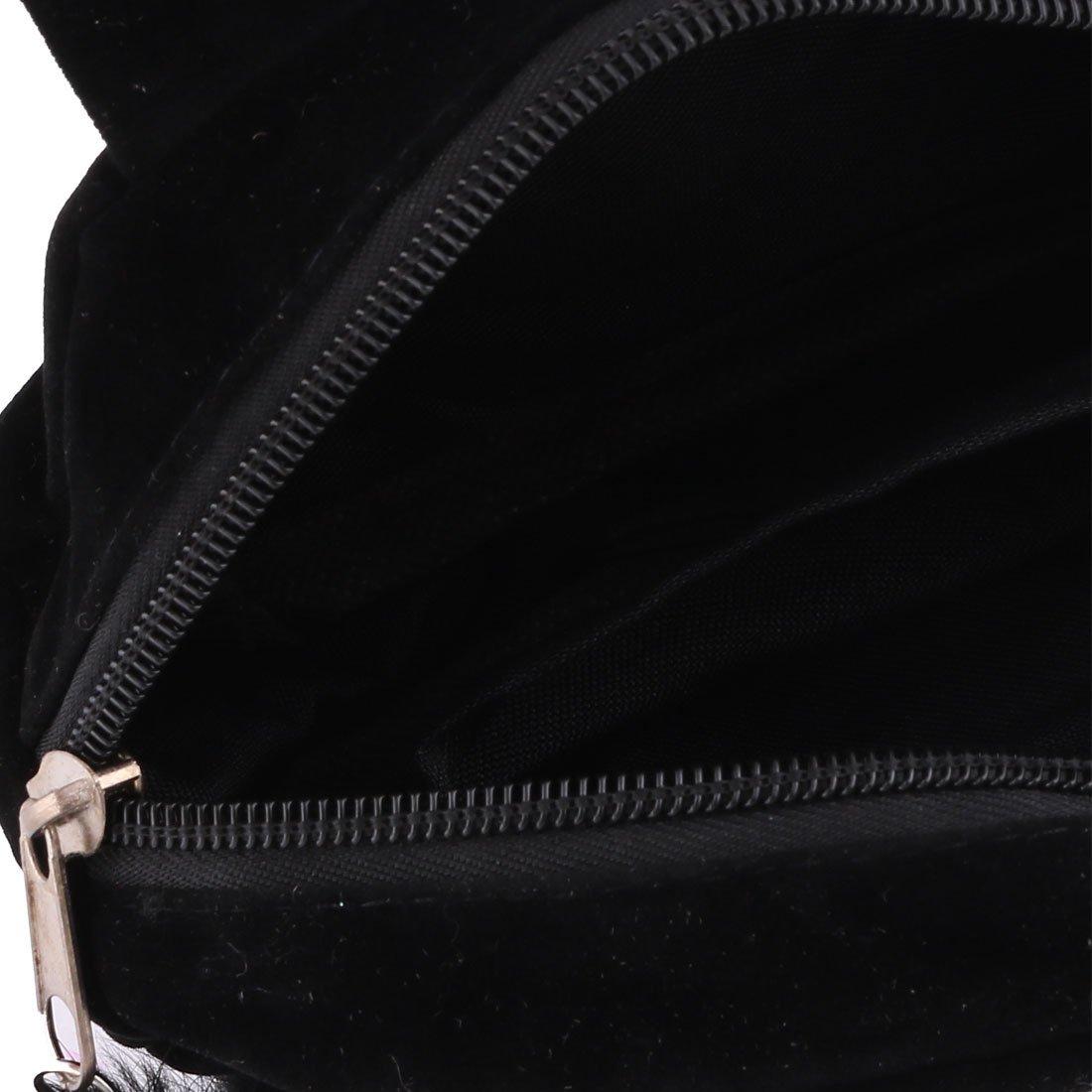 Amazon.com: Maquillaje eDealMax terciopelo Señora del gato Diseño cosmético del bolso de embrague Organizador 2pcs Negro Fucsia: Health & Personal Care