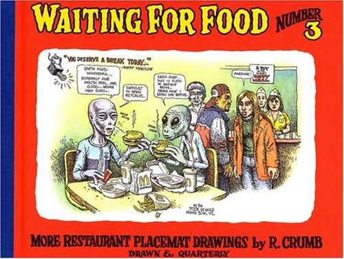 Waiting for Food, Number 3: More Restaurant Placemat Drawings ebook