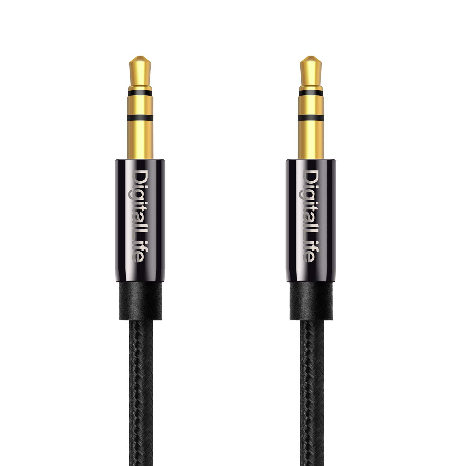 DigitalLife Stereo Audio Cable - 3.5mm Male to 2X RCA Female