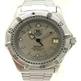 Tag Heuer 2000 962.213 Quartz Watch (Rechargeable) quandrante Grey Strap Stainless Steel