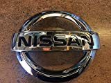 nissan versa emblem front - NEW OEM NISSAN VERSA NOTE 2014-2017 FRONT GRILLE EMBLEM - MODELS WITH FRONT FACING CAMERA ONLY!!