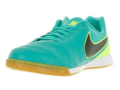innovative design 6644f 5d1ed Nike Jr Tiempox Legend VI IC, Chaussures de Foot Mixte Bébé, Vert-Verde