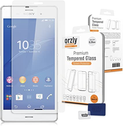 Orzly® - Sony Xperia Z3 - Prima Cristal Templado Protector de ...