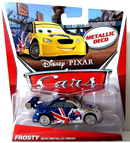 Disney Pixar Cars Limited Edition Silver Racer - Frosty with Metallic Finish