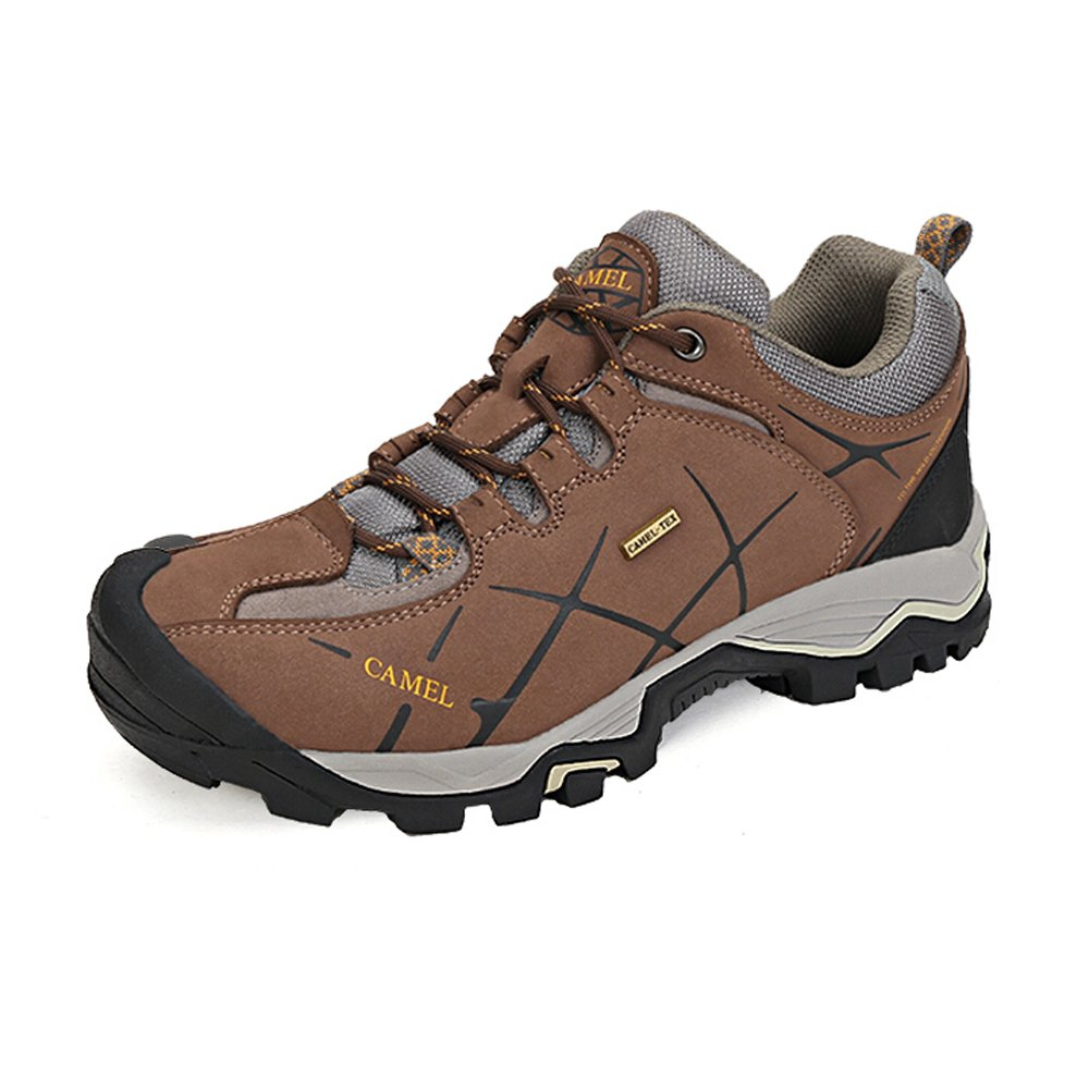 Camel Men's Outdoor Professional Hiking Shoes Genuine Breathable Mesh New Hiking Shoes