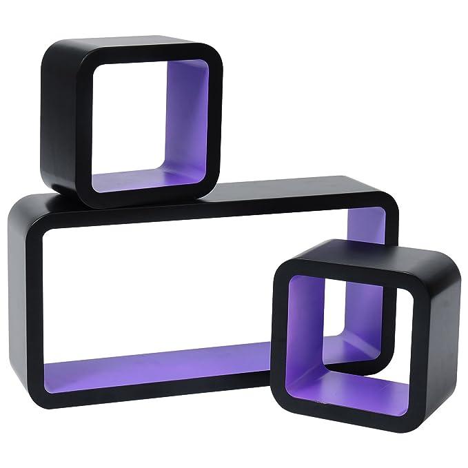 50 opinioni per WOLTU RG9248dla Mensole da Muro Mensola a Cubo Quadrato Scaffale a Parete