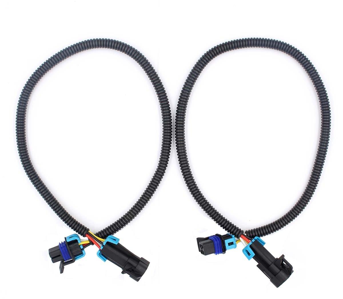 GooDeal 2pcs 24' LS1 Oxygen O2 Sensor Header Extension Wiring Harness for Camaro Firebird