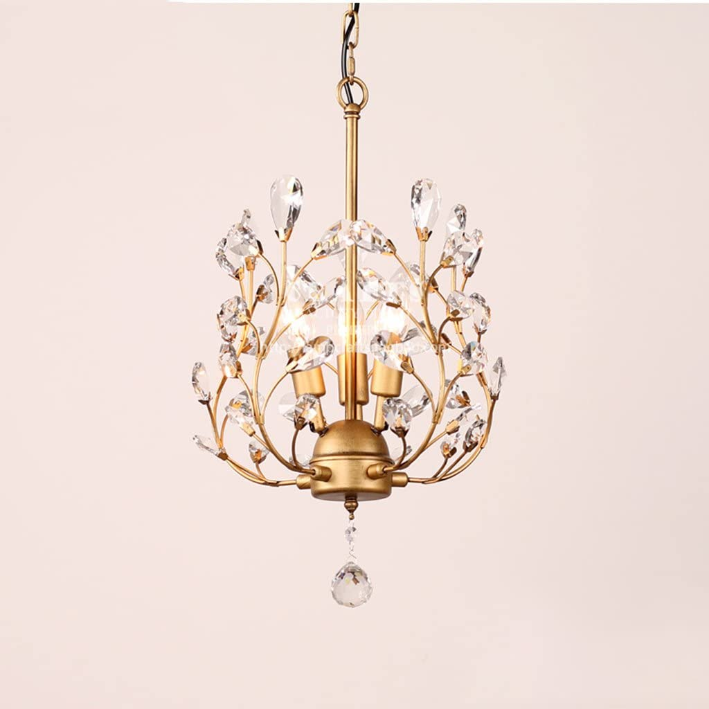 Wvfguj Library Chandeliers Modern Simple Crystal Small Chandelier Restaurant Small Chandeliers Study Creative Xuan Guang Light Personality Led Bar Counter Lights Pendant Lamp Amazon Co Uk Kitchen Home