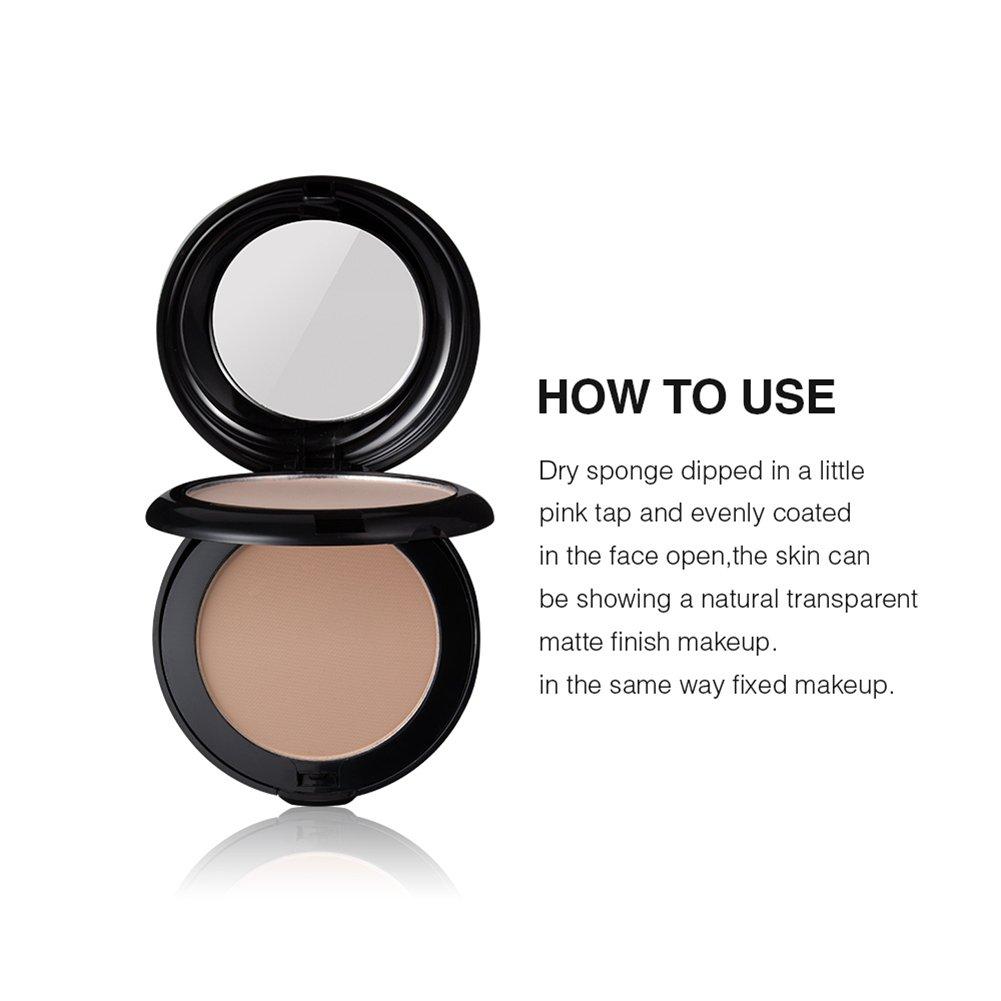 Makeup Puder Doppellagiges Concealer Palette Pulver Lkontrolle Ql Eyebrow Cream 15gr Gesicht Modifikation Kompaktes Mit Puff Beauty